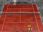 Tennis-spel-hip-hop